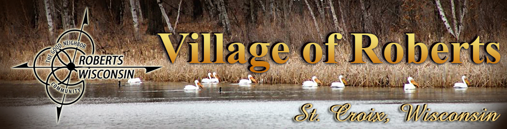 Village Of Roberts Wisconsin Official Website Of The